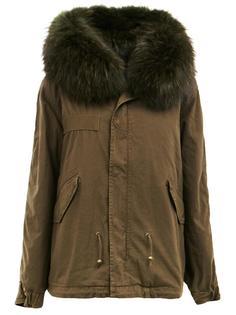 concealed fastening parka coat Mr & Mrs Italy