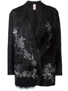 декорированный пиджак Antonio Marras