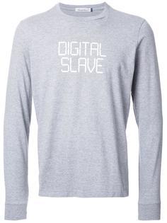 кофта с надписью 'Digital Slave' Undercover