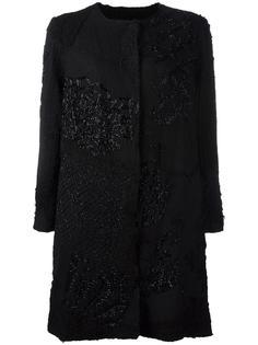 декорированное пальто By Walid