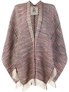 'Ruana' poncho shawl Figue