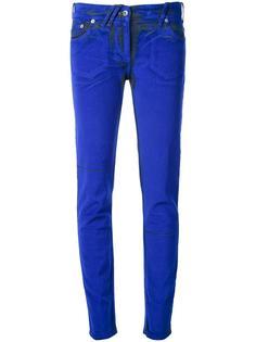 узкие брюки-стретч Courrèges
