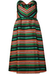 striped dress Delpozo