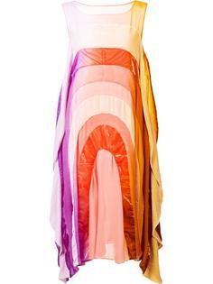 flared round rainbow dress Tsumori Chisato