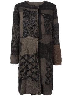 пальто с панельным дизайном By Walid