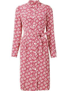 floral print shirt dress Ines De La Fressange