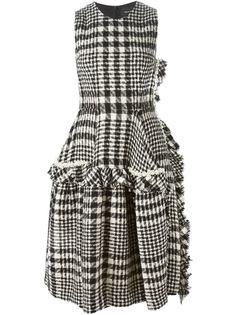 платье с рюшами Simone Rocha