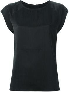 атласная блузка с линялым эффектом Mm6 Maison Margiela