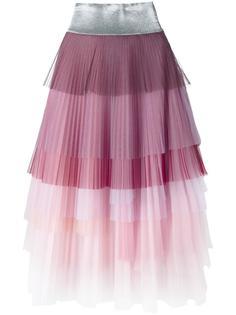плиссированная многослойная юбка Daizy Shely