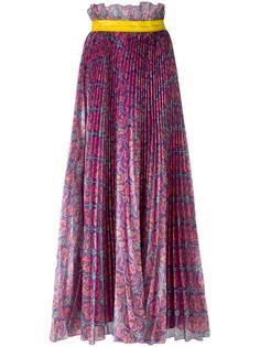 плиссированная юбка с цветочным принтом Daizy Shely