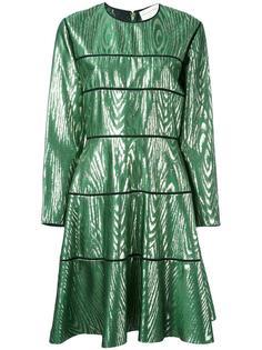платье до колена с панельным дизайном  Maison Rabih Kayrouz