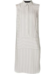 полосатое платье-рубашка без рукавов Rag & Bone