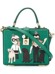 маленькая жесткая сумка 'Dolce' Dolce & Gabbana