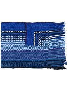 zig-zag fringed scarf Missoni