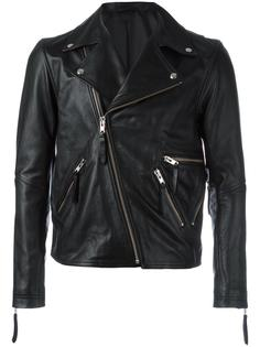 zipped biker jacket Public School
