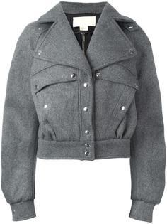 куртка с застежкой на кнопки Antonio Berardi