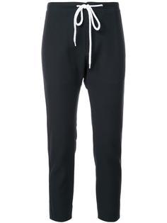 креповые брюки с эластичным поясом Bassike