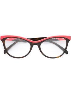 очки дизайна колор-блок Emilio Pucci