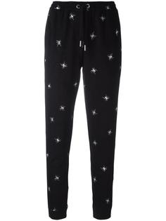 spider embroidered track pants Zoe Karssen