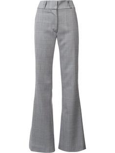 checked flared trousers Gareth Pugh
