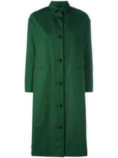 однобортное пальто Aspesi