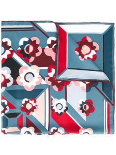 шарф с рисунком 'Flowerland' Fendi