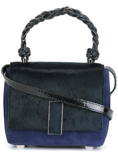 сумка на плечо с плетеной верхней ручкой Marcel Seraphine