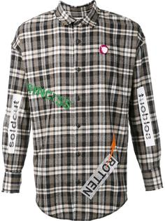 'Susi 51' flannel shirt Sold Out Frvr