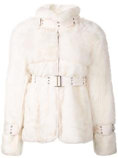 shearling jacket Sacai
