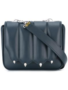 paw shaped shoulder bag Marco De Vincenzo