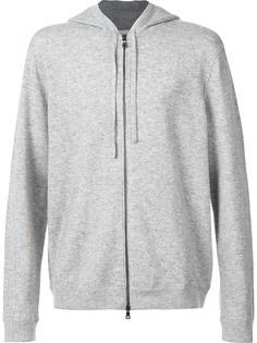 classic zipped hoodie Vince