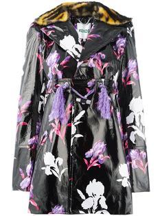 виниловое пальто 'Iris' Kenzo