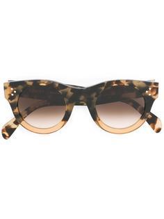 солнцезащитные очки 'Alia' в черепаховой оправе Céline Eyewear