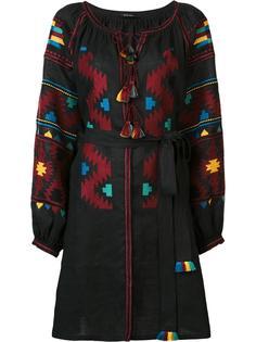 'Eagles' embroidered midi dress Vita Kin