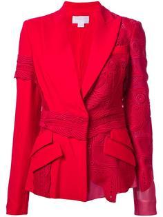 пиджак с заостренными лацканами Antonio Berardi
