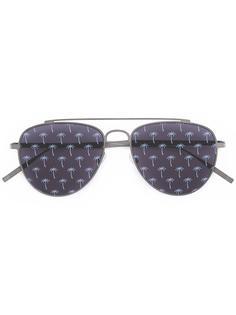 солнцезащитные очки с пальмами на линзах Tomas Maier