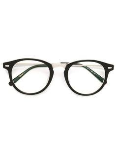 очки с круглой оправой Matsuda