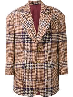 'Clarke' herringbone caban jacket Vivienne Westwood Man
