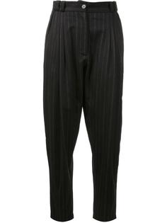pinstripe baggy trousers Marios