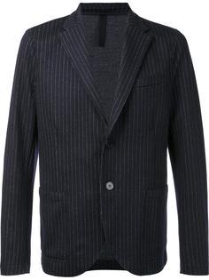 pinstripe blazer Harris Wharf London