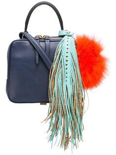 сумка среднего размера с бахромой The Volon