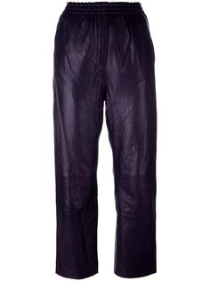 cropped leather trousers Forte Forte