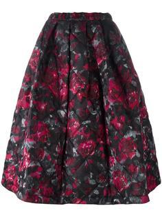 floral print full skirt Comme Des Garçons