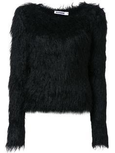 пушистый свитер Jil Sander