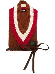 свитер c V-образным вырезом   Raf Simons