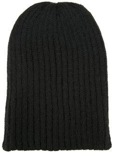 шапка ребристой вязки Kijima Takayuki