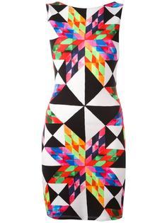 платье с геометрическим рисунком Mara Hoffman