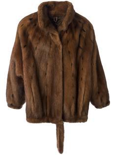 mink fur coat  Krizia Vintage