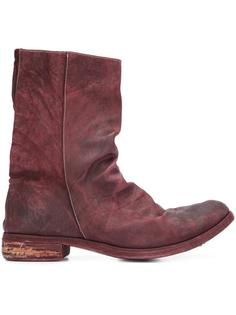 peaked vamp derby boots A Diciannoveventitre