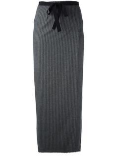 полосатая длинная юбка  Erika Cavallini
